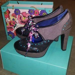 NWB Poetic License Foolproof Heels,Black, 38.5/7.5